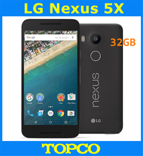 LG Nexus 5X H791 32G Google Original Unlocked GSM 3G&4G Android 5.2'' 12.3MP Quad-core 2GB RAM 32GB Mobile phone Dropshipping(China)