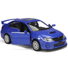 2011 Subaru Impreza 1:36 scale high simulation Coupe,metal pull back WRC STI cars,2 open door,model car toys