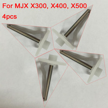4pcs Gearset Gear Cone Assembly Components Spare Parts Accessories for MJX X300 X400 X500 RC Quadcopter Drone