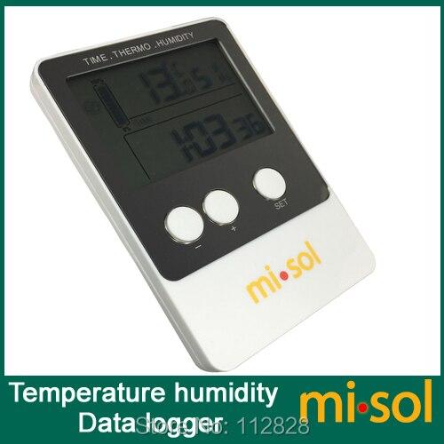 Data Logger Temperature Humidity USB Datalogger thermometer data record<br>