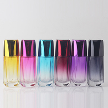 BP-86 50Pcs / Lot 50ml Perfume Bottle Glass Refillable Perfume Bottle With Metal Spray And Empty Box Glass Perfume Bottle Spray