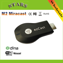 M2 Ezcast Chromecast miracast airplay dlna tv stick wireless display media player 1080p hdmi wifi dongle for windows ios andriod(China)