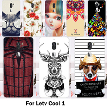 Mobile Phone Cases For Letv Cool 1 Cover Letv LeEco cool 1 Dual Leeco Coolpad Cool1 Soft TPU Silicon DIY Painting Bags Housings