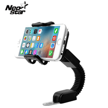 Universal 360 Degree Auto Motorcycle Bicycle Mount Phone Holder For Samsung For iPhone Mobile Phone GPS PDA MP4