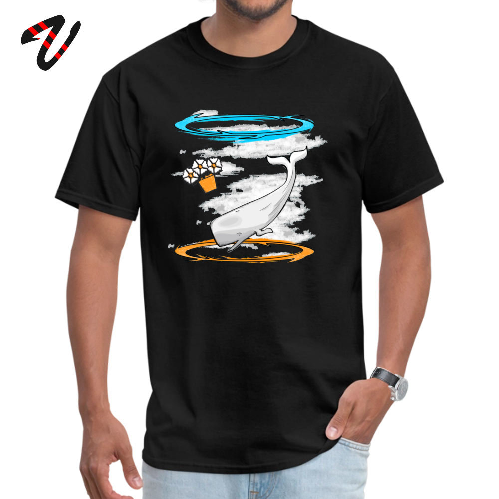 Casual T Shirt 2019 Newest Short Sleeve Men's T Shirts TpicOriginaltitle Camisa Summer Fall Tops & Tees Round Collar Infinite Improbability 9417 black