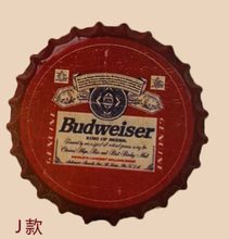 "Tin Sign ""Budweiser"" Vintage Metal Painting Beer cap Bar pub Hanging Ornaments Wallpaper Decor Retro Mural Poster Craft 35x35 CM(China)"