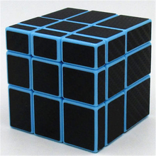 3x3x3 Magic Cube Carbon Fiber Mirror Cube Puzzles Kids Educational Toys Speed Magic Cubo Puzzle Game Adult Gifts 702026(China)