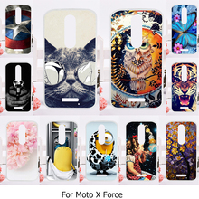 Phone Cover Case For Motorola Moto X Force Funda Coque Cellphone For Moto XT1585 XT1581 Motorola Droid Turbo 2 XT1580 Cover Case