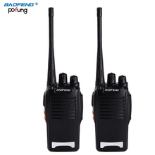 2PCS Original BaoFeng BF-777S long range wireless UHF 400-470MHz power 5W Two-way Radio Waterproof Walkie Talkie portable radio