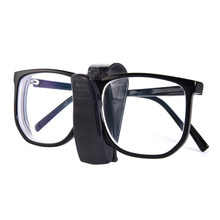 car eyeglass clip frames paper folder car clip card holder options transparent glasses car automobile auto supplies(China)