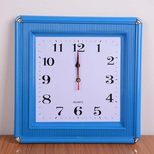 large square wall clock, fashion creative clock sitting room, bedroom quartz clock, home decoration