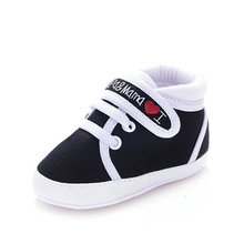 Newborn Infant Kids Baby Boys Girls Soft Bottom Canvas Sneaker Toddler Shoes