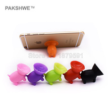 5x Piglet Suction Cup Phone Holder Silicone Suckers Stand Support for iPhone Samsung Xiaomi Huawei HTC LG Vivo Oppo Smartphones