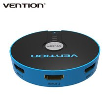 VENTION Mini 3 Port HDMI Switch Switcher HDMI Splitter HDMI Port For PS3 PS4 360 PC DV DVD HDTV 1080P 3 Input to 1 Output