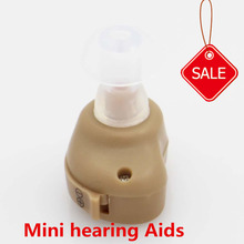 Hot Hearing Aid Portable Small In The Ear Invisible Best Sound Amplifier Adjustable Tone Hearing Aids for Adults children