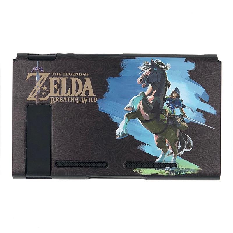 Nintendo Switch Protective Case Cover The Legend of Zelda Jon Con Grip Thumb Stick Caps Accessories-3
