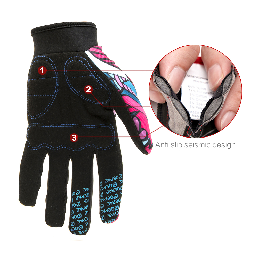 Qepae Full Finger Motorcycle Winter Gloves Screen Touch Guantes Moto Racing/Skiing/Climbing/Cycling/Riding Sport Motocross Glove 14