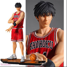 27cm PVC Slam Dunk Rukawa Kaede action figure Toy Model Size 10.6'' Japanese Slamdunk Figure Doll Toys
