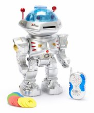RC Robot Radio Remote Controlled RC Dancing Robot w/ R/C Missile Disc Launcher(China)