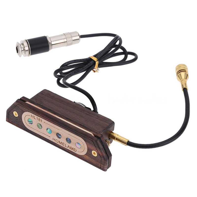 IRIN Magnetic Soundhole 39/40/41/42Acoustic Guitar Pickup Humbucking Amp T7V0<br>