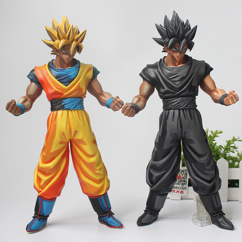 29CM Dragon Ball Z MSP Son Goku Chocolate and Comics Ver.  PVC Action Figure Collection Model Doll Toy Gifts<br>