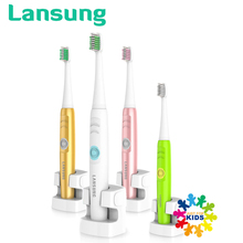 Electric Toothbrush Wireless Charge Sonic Electric Tooth Brush Waterproof Electric Teeth Brush 4 Head Tooth Brush Rechargeable(China)