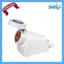 SP-128 2014 International Standard 3Pin 63A  400V IP67  Industrial socket, Container Connector,Surface Mounted Socket