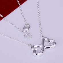 N148 8 Characters Necklace Factory Price Free shipping 925 silver necklace.fashion jewelry necklace