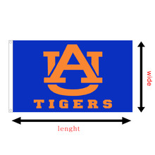 NCAA football university of Auburn Tigers custom SEC College race flying flag printed 3X5FT banners