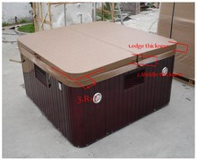 2280mmX2280mm hot tub spa cover leather skin , can do any other size(China)