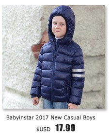 Babyinstar Girls Winter Coat Fashion Children Clothing Kids Hooded Coat Thicken Cotton-padded Zipper Jackets