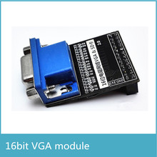 16 Bit True Color 65536 Color VGA Module with SD Card Interface Video Image Capture(China)