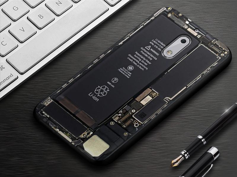 EiiMoo Phone Case For Nokia 6 Cover Silicone Capa Coque For Nokia 6 Back Cover Cute Cartoon Soft TPU For Nokia6 Case 17 64GB 23