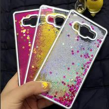 For Samsung Galaxy Case A3 A5 A7 2016 2015 Luxury Bling Liquid Glitter Star Quicksand Clear Phone Cases For Samsung Galaxy Case