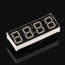 5pcs 7 Segment Clock Display Digital Segmentos 0.56inch 4 Digit 7-segment RED LED Display Common Anode Cathode 0.56 Time Display(China)