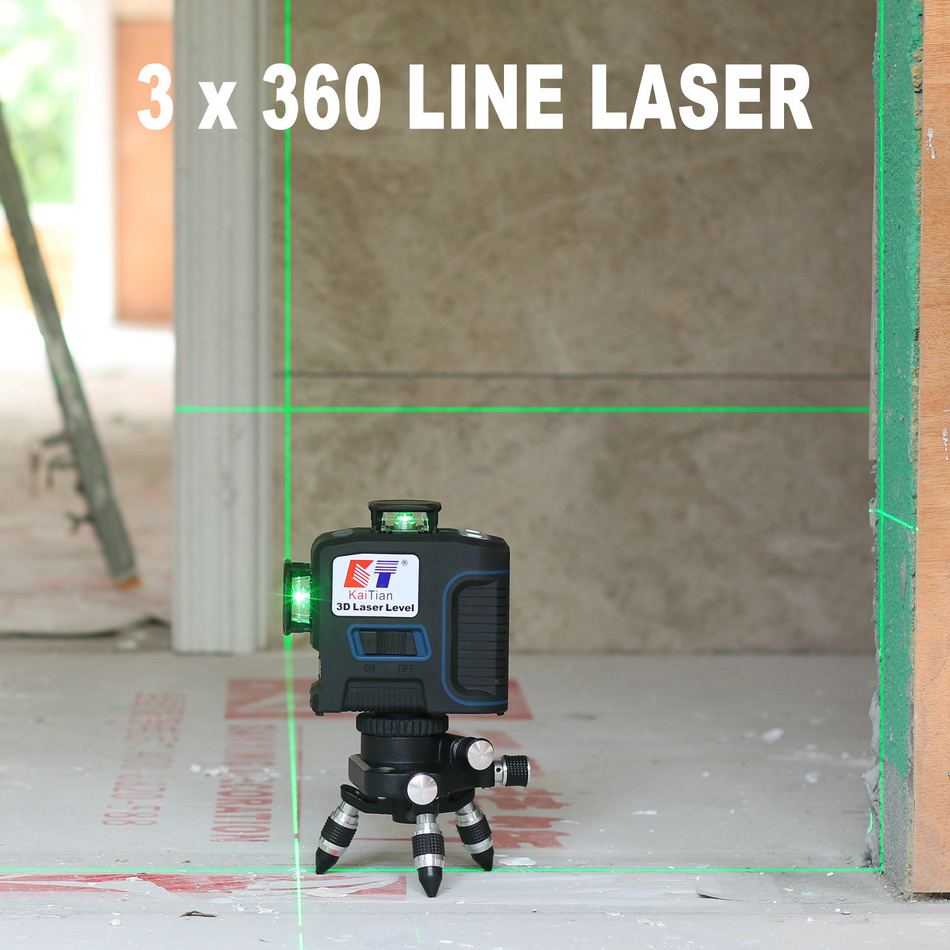 KaiTian Laser Level 360 Green Line 4