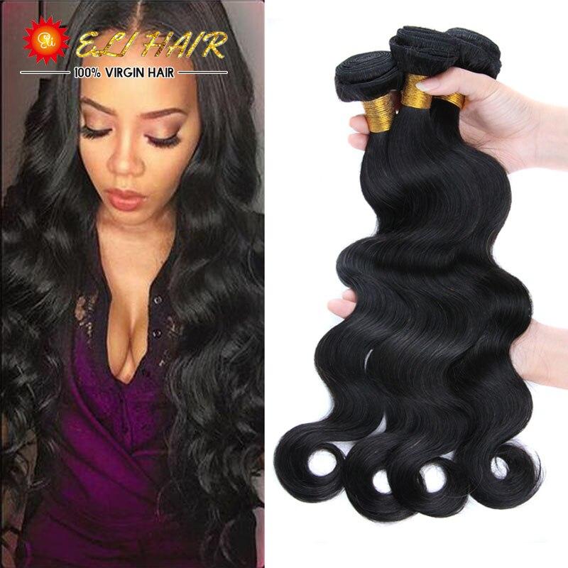 8A Malaysian Virgin Hair With Closure 4PCS Malaysian Body Wave Hair Bundles With 1PC Closure And Bang 100% Human Hair Weave<br><br>Aliexpress