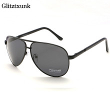 Glitztxunk 2017 New Fashion HD Polarized Sunglasses Brand Designer Outdoor Sports UV400 Eyes Protect Sun Glasses For Men(China)