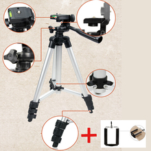 NIERBO Professional Flexible Tripod Univeral Adjustable Tripod for 3D Home Theater Projectors Camera Tripod with Phone Holder
