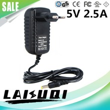 1pcs 5V 2.5A DC4.0*1.7mm EU Plug AC/DC Power Adaptor 5V2A Compatible Replace 5V 3A 2A Supply Charger LAISUQI New Hot Sale