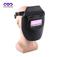 YOUTHINK Hot sale Auto Darkening Welding Helmet Welding Welder Mask Lenses Solar Powered Cap For Soldering