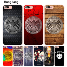 HongJiang agent of s.h.i.e.l.d shield logo cell phone Cover case for iphone 6 4 4s 5 5s SE 5c 6 6s 7 8 X plus(China)