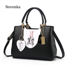 Nevenka New Arrival Brand Women Original Design Pattern Handbag High Quality Leather Chains Bags Ladies Fashion Messenger Bag