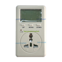 Digital Electricity Energy Meter Tester Monitor indicator Voltag Power Balance Energy saver Meter WF-D02A Taiwan plug