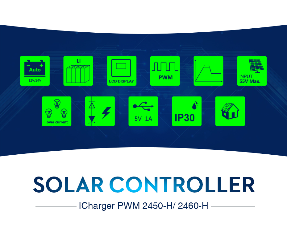 EASUN POWER Solar Controller Charge PWM 50A 60A LCD Voltage Regulator 12v 24v Solar Regulator Solar System Charger Controller_02