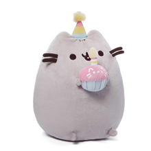 Kawaii Cute Baby Pusheen Cat Plush Toys Stuffed Animal Doll Animal Pillow Toy Cushion For Kids Girls Boys Brinquedos Gift(China)