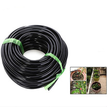 High Quality 20M 3/5 MM And 4/7MM Black Micro Irrigation Pipe Water Hose Drip Watering Sprinkling Home Garden for Drip Arrow(China)