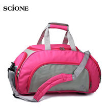 Men Women Sports Swimming Gym Bag Dry and Wet Separation Large Independent Shoes Storage Outdoor Travel Shoulder Bag XA133WA(China)