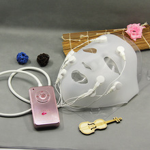 New hot Professional Portable charging Mask machine Beauty equipment Vibration massage Lift machine Edible grade silica gel