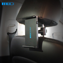 MEIDI Tablet Car Holder iPad Stand High Quality Car Phone Holder For Seat Headrest 360 Rotation Mobile Phone Mount Holder(China)